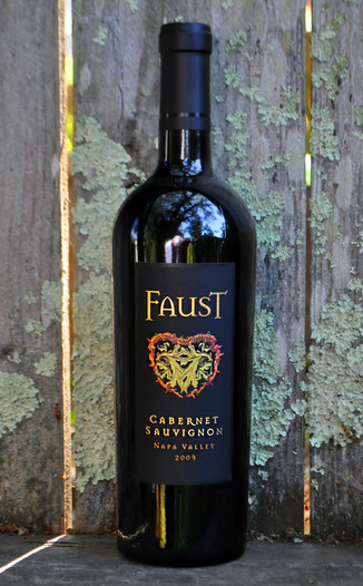 Faust 2009 Napa Valley Cabernet Sauvignon 750ml Wine Bottle