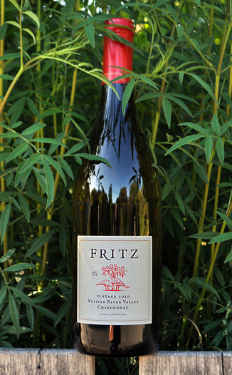 Fritz Underground Winery 2010 Russian River Valley Chardonnay 750ml Wine Bottle