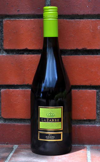 LaZarre Wines 2011 Edna Valley Albarino 750ml Wine Bottle