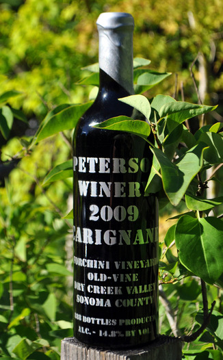 Peterson Winery 2009 Forchini Vineyard Carignane 750ml Wine Bottle
