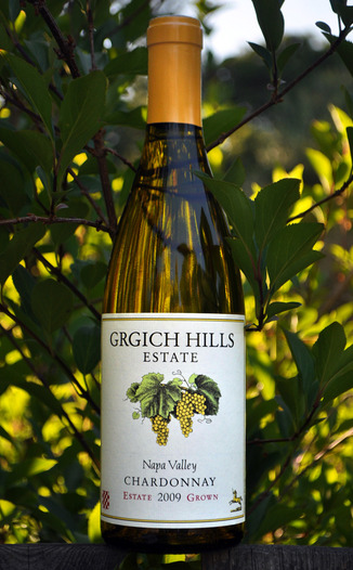 Grgich Hills Estate 2009 Napa Valley Chardonnay 750ml Wine Bottle