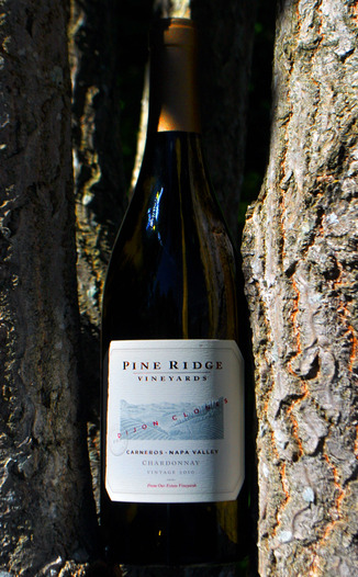 Pine Ridge Vineyards 2010 Dijon Clones Chardonnay 750ml Wine Bottle