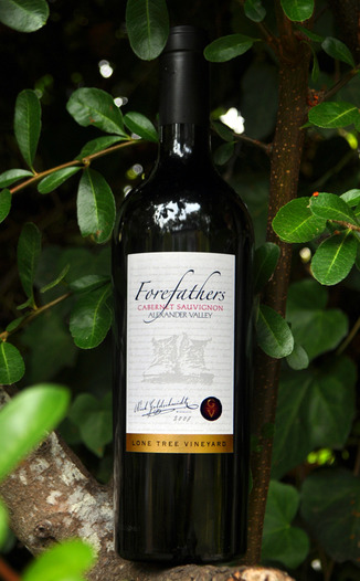 Forefathers Wines 2008 Lone Tree Vineyard Cabernet Sauvignon 750ml Wine Bottle