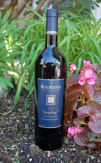 Bourassa Vineyards 2004 Symphony³ Proprietors Reserve 750ml Wine Bottle