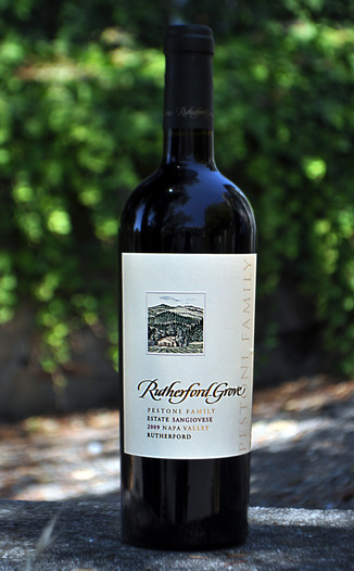 Rutherford Grove 2009 Estate Sangiovese 750ml Wine Bottle