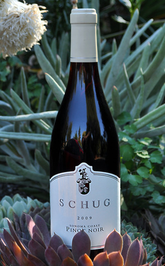 Schug Carneros Estate 2009 Sonoma Coast Pinot Noir 750ml Wine Bottle