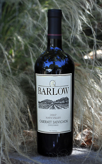 Barlow Vineyards 2007 Cabernet Sauvignon 750ml Wine Bottle