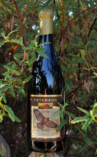 Peterson Winery 2008 Bradford Mountain Syrah, Gravity Flow Block 750ml Wine Bottle