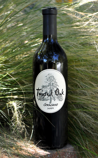 Twisted Oak Winery 2009 Graciano 750ml Wine Bottle