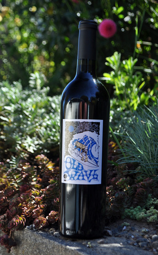 Random Ridge 2009 Old Wave Old Vine Zinfandel 750ml Wine Bottle