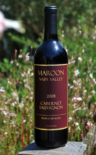 "Maroon Wines 2008 ""Proprietary"" Cabernet Sauvignon 750ml Wine Bottle"
