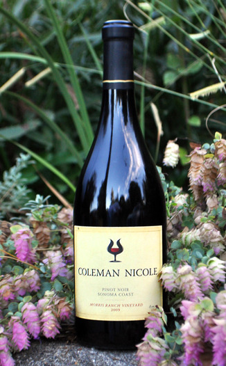 Coleman Nicole 2009 Morris Ranch Vineyard Pinot Noir 750ml Wine Bottle