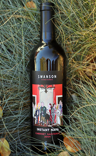 Swanson Vineyards 2009 Instant Napa Cabernet Sauvignon 750ml Wine Bottle