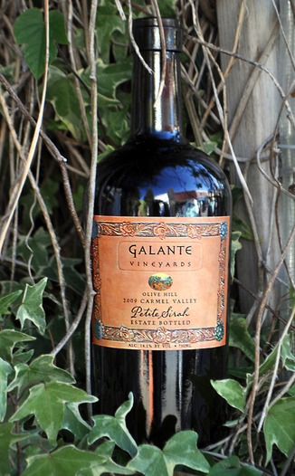 Galante Vineyards 2009 Galante Petite Sirah 750ml Wine Bottle