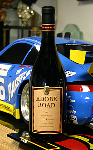 Adobe Road 2005 Pinot Noir 750ml Wine Bottle