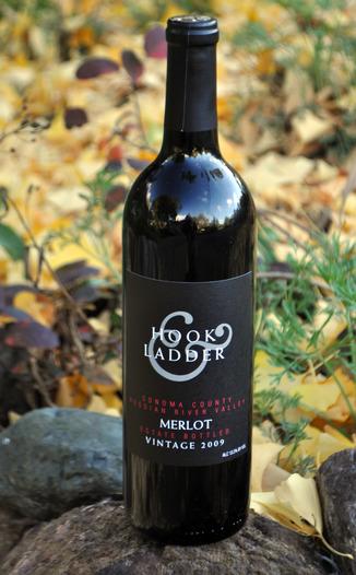 Hook & Ladder 2009 Estate Bottled Merlot 750ml Wine Bottle