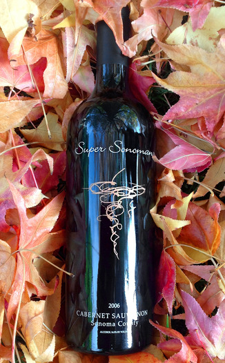 Super Sonoman 2006 Cabernet Sauvignon 750ml Wine Bottle