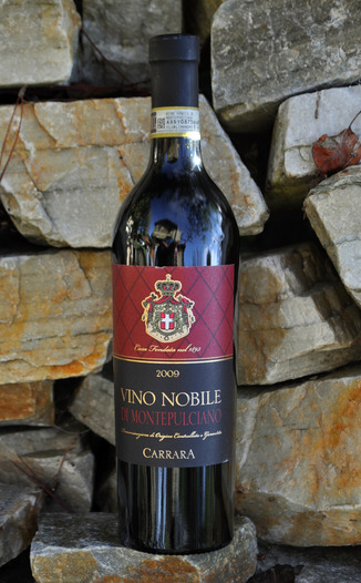 Carrara 2009 Vino Nobile Di Montepulciano 750ml Wine Bottle