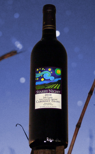Starry Night Winery 2010 Cabernet Franc 750ml Wine Bottle