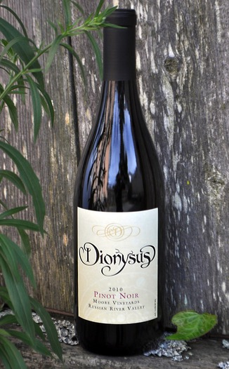 Dionysus Winery 2010 Russian River Valley Pinot Noir 750ml Wine Bottle