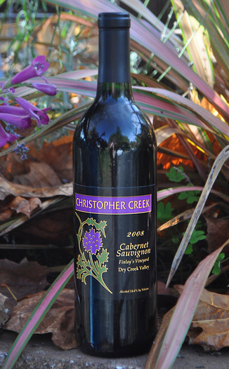 Christopher Creek Winery 2008 Cabernet Sauvignon 750ml Wine Bottle