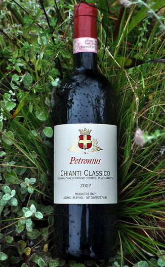 Petronius Wines 2007 Chianti Classico 750ml Wine Bottle