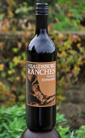 Healdsburg Ranches 2009 North Coast Zinfandel 750ml Wine Bottle