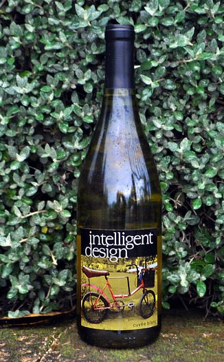 Wesley Ashley Wines 2009 Intelligent Design Cuvée Blanc 750ml Wine Bottle