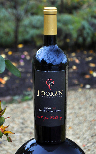 J. Doran Vineyards 2010 Cabernet Sauvignon 750ml Wine Bottle