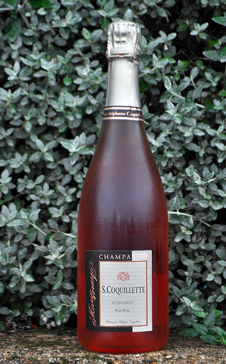 S. Coquillette NV Grand Cru Brut Rosé 750ml Wine Bottle