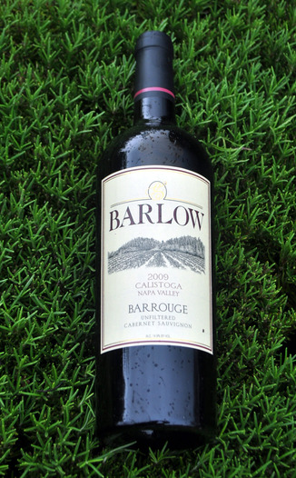 Barlow Vineyards 2009 Barrouge Bordeaux Blend 750ml Wine Bottle