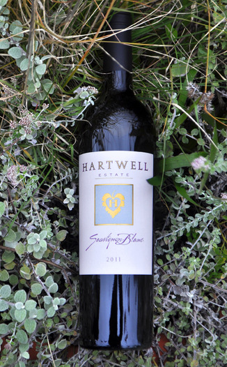 Hartwell Vineyards 2011  Estate Sauvigon Blanc 750ml Wine Bottle