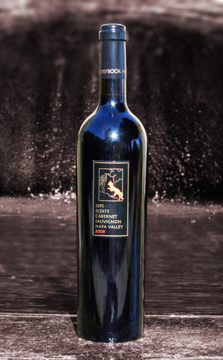 Storybook Mountain 2008 Seps Estate Cabernet Sauvignon 750ml Wine Bottle