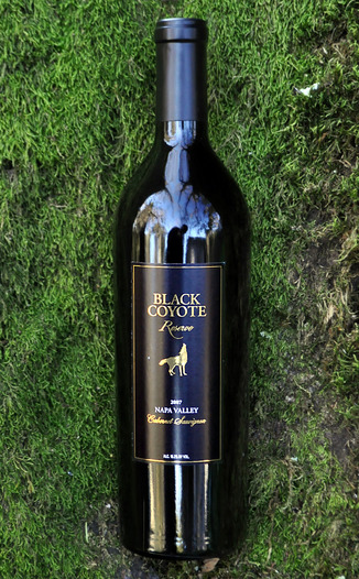 Black Coyote Wines 2007 Reserve Cabernet Sauvignon 750ml Wine Bottle