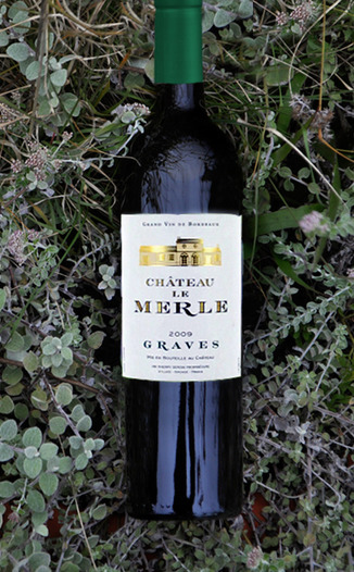 Chateau Le Merle 2009 White Graves Bordeaux 750ml Wine Bottle
