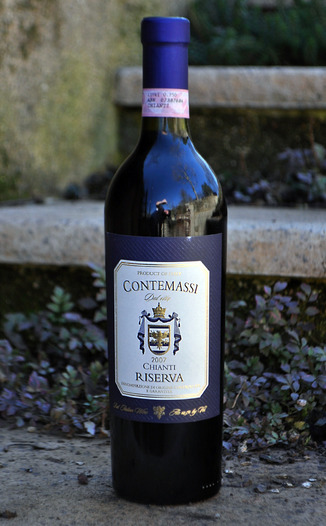 Contemassi 2007 Chianti Classsico Reserva 750ml Wine Bottle