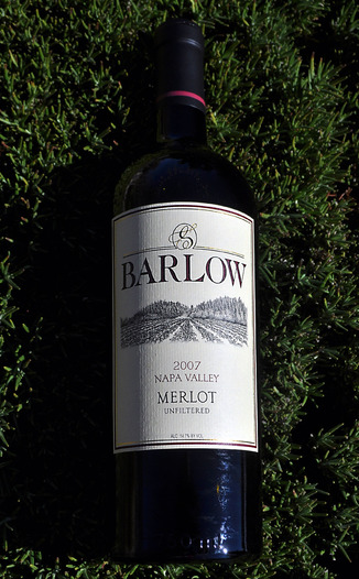 Barlow Vineyards 2007 Merlot 750ml Wine Bottle