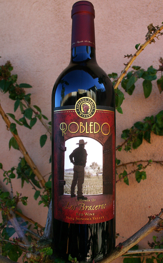 Robledo Family Winery 2004 Los Braceros 750ml Wine Bottle