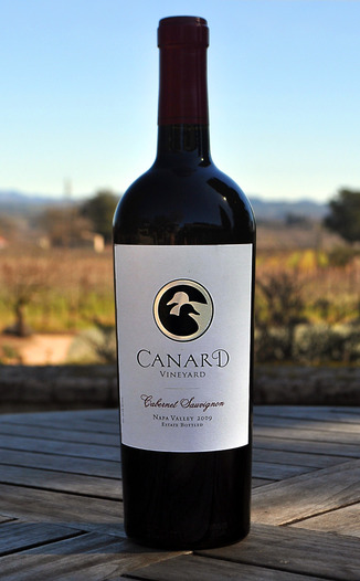 Canard Vineyard 2009 Cabernet Sauvignon 750ml Wine Bottle