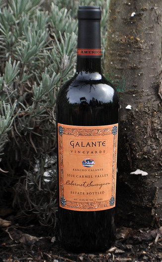 Galante Vineyards 2010 Rancho Galante Cabernet  750ml Wine Bottle