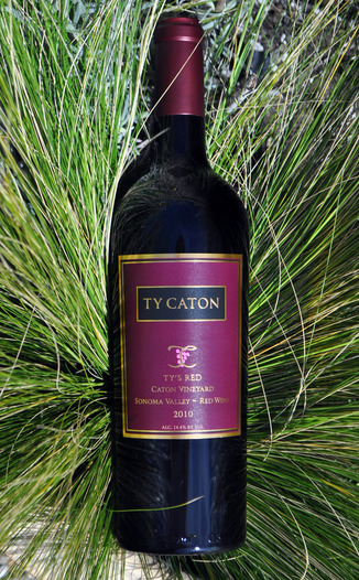 Ty Caton Vineyards 2010 Ty's Red 750ml Wine Bottle