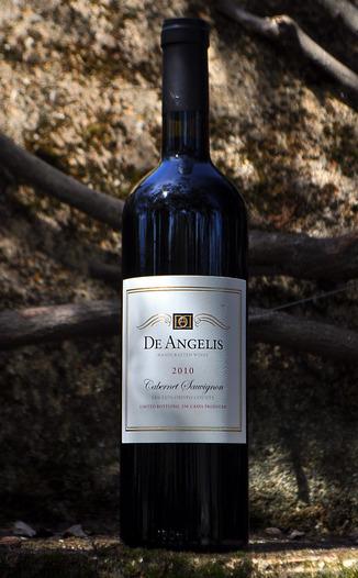 De Angelis Wines 2010 Cabernet Sauvignon 750ml Wine Bottle
