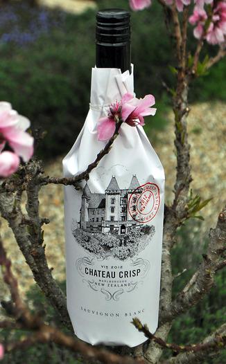 Chateau Crisp 2012 New Zealand Sauvignon Blanc 750ml Wine Bottle