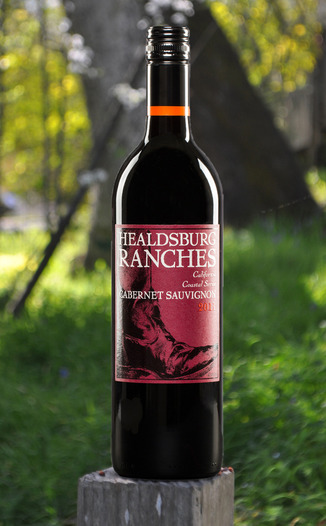 Healdsburg Ranches 2011 Coastal Series Cabernet Sauvignon 750ml Wine Bottle