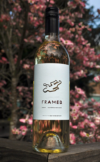 Framed Wines 2009 White Blend 750ml Wine Bottle
