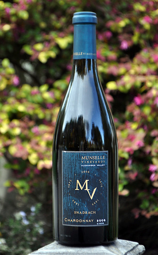 Munselle Vineyards 2008 Shadrach Chardonnay 750ml Wine Bottle