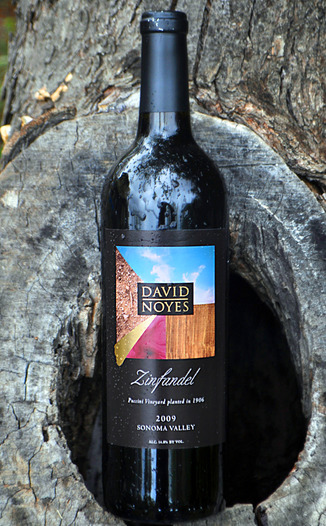 David Noyes Wines 2009 Puccini Vineyard Zinfandel 750ml Wine Bottle