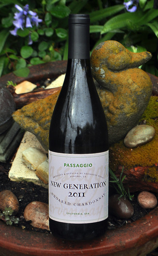 Passaggio Wines 2011 Unoaked Chardonnay 750ml Wine Bottle