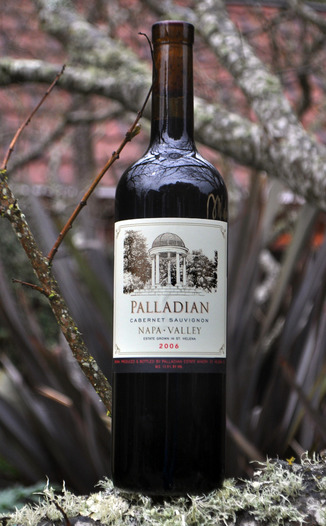 Palladian Estate Winery 2006 Cabernet Sauvignon 750ml Wine Bottle