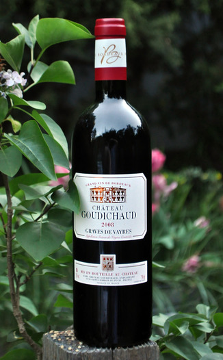 Chateau Goudichaud 2008 Graves de Vayres Rouge 750ml Wine Bottle